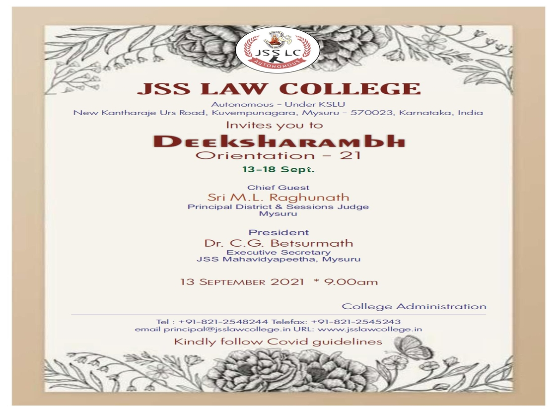Jss Law College